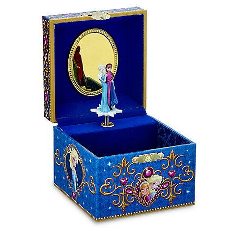 【予約商品】US版 ディズニー アナと雪の女王 オルゴール ジュエリーボックス