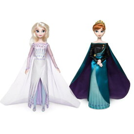 【予約商品/3月中旬以降入荷予定】US版 ディズニー アナと雪の女王2 クイーン エルサ & クイーン アナ クラシック ドール 2体セット(人形 女の子 アナ雪)