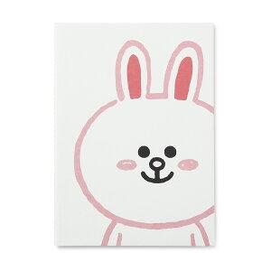 【メール便で送料無料】ラインフレンズ ノート コニー A5サイズ(韓国 うさぎ 文房具 line)