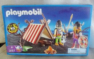 Playmobil USA limited edition PLAYMOBIL ★ Viking camp #3157
