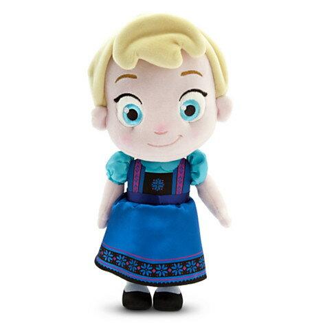 【訳あり】US版 ディズニー アナと雪の女王 トドラー エルサ プラッシュ(ぬいぐるみ)
