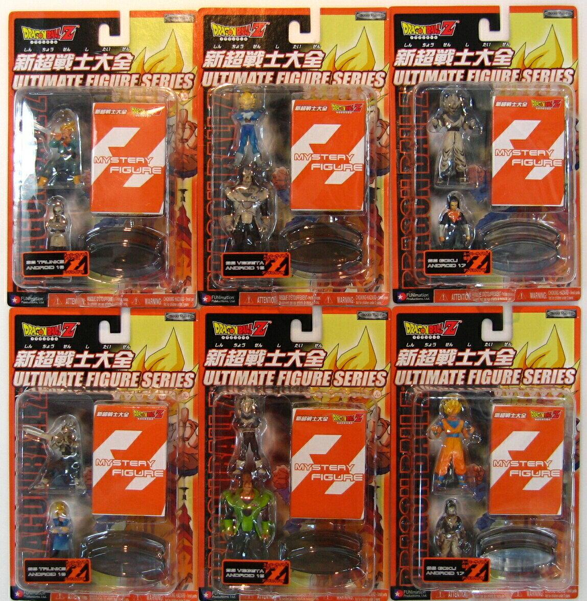 ドラゴンボールZジャックスパシフック社新超戦士大全6ブリスターセット