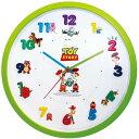 8月下旬以降再入荷の予約♪DISNEY★ディズニー・ピクサー アイコンウォールクロック 『トイストーリー/TOY STORY』アナログ表示・連続秒針・壁掛け時計