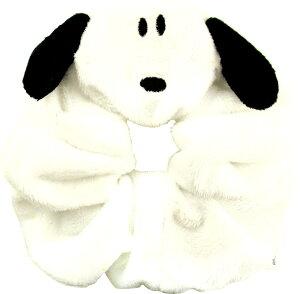 スヌーピー シュシュ ヘアアクセサリー『ふわふわな生地SNOOPY』メール便なら¥290で全国へ(ヘアゴム ヘアメイク リラックス グッズ 洗面 通販 キャラクター)
