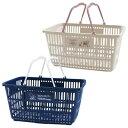 スヌーピー 買い物かご 買い物カゴ バスケット ショッピングバスケット【ベージュ・ネイビー】(SNOOPY ショッピング…