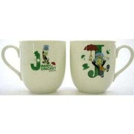 【日本製】安心な日本国内ライセンス商品★イニシャルマグカップ(J・ピーターパンシリーズ ジミニー・クリケット)ディズニー