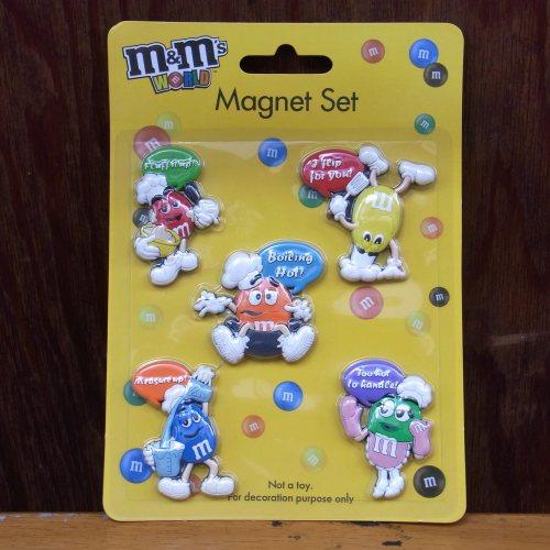 【M&M'S】 マグネットセット MMキャラクター集合!【エムアンドエムズ】