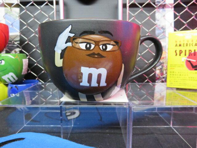 【M&M'S】【キッチングッズ】【ボウルマグ】【スープボール】【エムアンドエムズ】【M&M's】【550ml】【ブラウン】