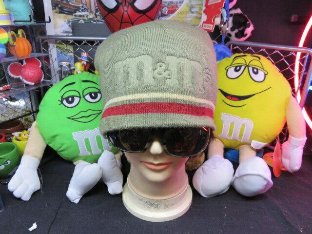 M&M'S【ニット帽】フリーサイズ【エムエム】エムアンドエムワールド限定