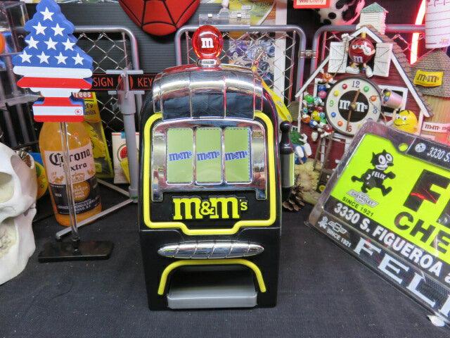 【M&M'S】スロットマシン ディスペンサー【slot】【ディスペンサー】【直輸入!!】【エムアンドエムズ】デジタルスロット