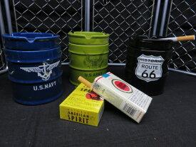 【灰皿】【ガレージグッズ】【U.S NAVY】【U.S ARMY】【ROUTE66】【3タイプ】【陶器製灰皿】