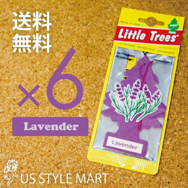 【ホールセール】【まとめ買い】【リトルツリー】【Little Tree】【6枚セット送料無料】【ラベンダー】【Lavender】 【芳香剤 車】