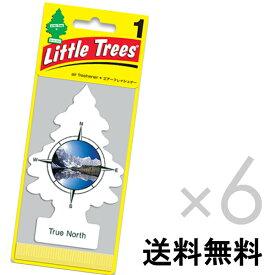 【ホールセール】トゥルー ノース【まとめ買い】リトルツリー【Little Tree】6枚セット送料無料【True North】 【芳香剤 車】2017年NEW