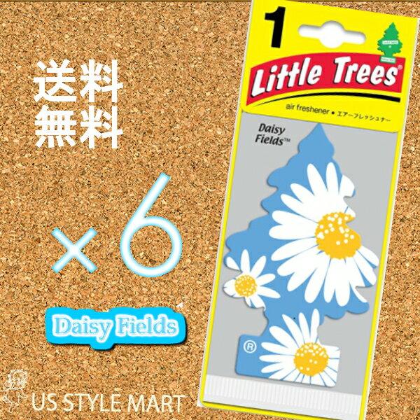【ホールセール】【まとめ買い】リトルツリー【Little Tree】【6枚セット送料無料】デイジー・フィールズ 【芳香剤 車】2017年 5月