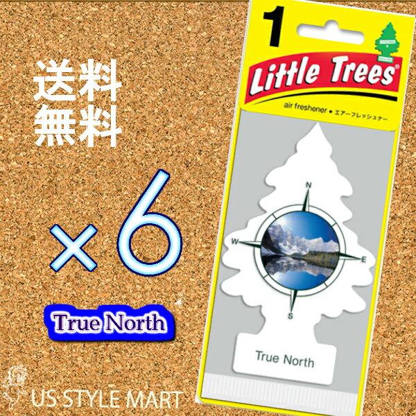 ホールセール【まとめ買い】リトルツリー【Little Tree】6枚セット送料無料【トゥルー ノース】True North 【芳香剤 車】2017年NEW