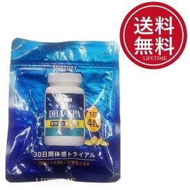 ※新パッケージ サントリー DHA&EPA+セサミンEX オリザプラス 120粒 送料無料【ゴマ ビタミンE 青魚】