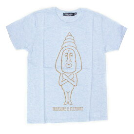 こびとづかん レディースTシャツ/タカラコガネ2(メランジブルー)【XS、M、L】【RCP】