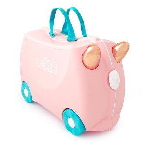 今日はポイントUPの日 キッズ スーツケース トランキ【乗って遊べる子供用スーツケース】ライドオン・トランキ/ フロッシー・フラミンゴ/trunki