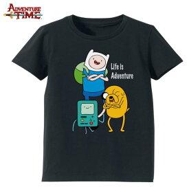 【ポイント切れ対策】Tシャツ メンズ(L) ファミリー(ブラック) /アドベンチャータイム Adventure Time【RCP】