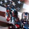 【送料無料】1/6スケールフィギュアアイアン・パトリオット【ムービー・マスターピースDIECAST】『アイアンマン3』ホットトイズ社製/MovieMasterpieceDiecast-1/6ScaleFullyPoseableFigure:IronMan3-IronPatriot