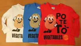 【ゆうパケット可】POTETO Tシャツ/CHEEK ROOM(チークルーム)【RCP】【楽天カード分割】