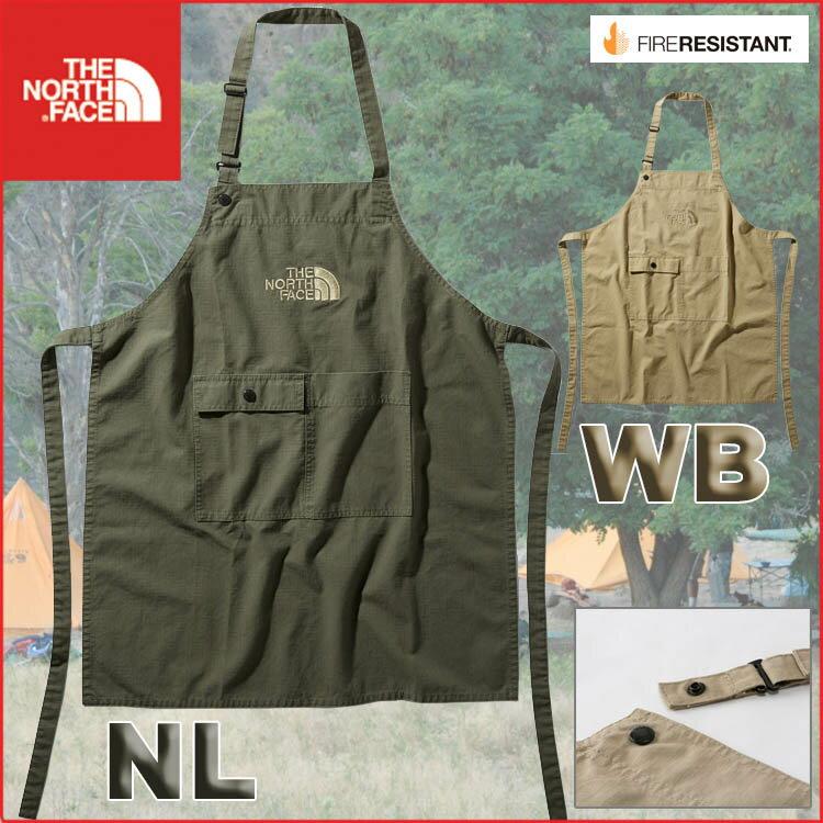 ノースフェイス キッズ ファイヤーフライエプロン North Face【2019SS】【家庭科】【キャンプ】【料理クッキング】