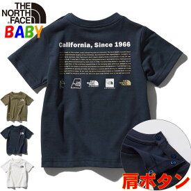 【CASHLESS+P5倍】ノースフェイス ベビーTシャツ ヒストリカルロゴ【80-90cm】 North Face 男の子女の子アウトドアブランド Historical Logo T-Shirt