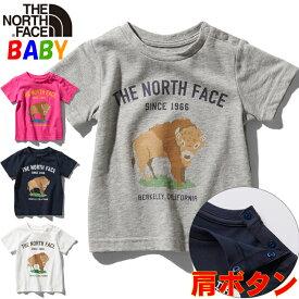 【CASHLESS+P5倍】ノースフェイス ベビー グラフィックアニマルTシャツ【80-90cm】【2020SS】 North Face Graphic Animal Tee 男の子女の子アウトドアブランド