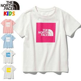 ノースフェイス キッズ Tシャツ【100-150cm】カラードビッグロゴ【2020SS】 North Face Colored Big Logo Tee 男の子女の子アウトドアブランド