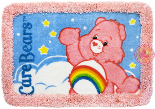 Care Bears Bath Mat(ケアベア・バスマット)/Cheer Bear(チアベア)【RCP】【楽天カード分割】