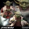 "旁邊表演公司製造""星球大戰""1/6 sukerufigyuayoda(jiedai·主人)/Star Wars-1/6 Scale Fully Poseable Figure: Order Of The Jedi - Yoda (Jedi Master)"
