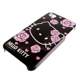 iDress iPhone4対応 ブラック/ハローキティ(HELLO KITTY)