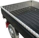 荷台アルミ縞板カバー三方セット(ロングタイプ)スーパーキャリー用