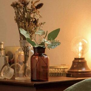 メディシンボトル ガラス 容器 薬瓶 試薬瓶 レトロ アンティーク おしゃれ キッチン用品 インテリア ディスプレイドライフラワー 小瓶 花 保存容器 茶色 透明 ガラスポット 装飾 北欧 フレン