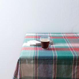 マルチカバー ベッドカバー ソファーカバー テーブルクロス チェック 長方形 225×150cm コットン チェック タータンチェック ナチュラル ファブリック インテリア 目隠し キッチン リビング 寝室 カフェ アウトドア キャンプ 模様替え 大判