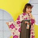 【リサイクル着物セット】適応身長143cm〜170cm前後♪utataneの袴3点セット。レトロモ...