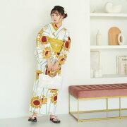 送料無料!◆特選・日本製生地◆ここでしか買えない昭和初期アンティークデザイン復刻版◆注目レトロティーク【utatane高級変わり織り浴衣3点セットブラックに乙女つばき】ゆかた・帯・下駄セットですぐにお出かけ♪うたたね