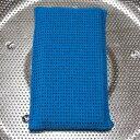 異物混入対策用スポンジ ナチハマ 業務用食器洗いスポンジ ブルー(NS-18)食品工場、料理店、給食調理場など、鍋や調…
