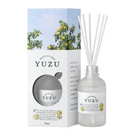 高知県産 YUZU(ユズ)消臭リードディフューザー[国産ゆず油 緑茶エキス]