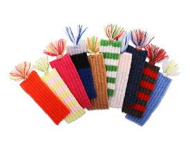 【東北復興支援】カシミヤのしおりカシミヤ糸使用の手作りしおり岩手県北上市へ一部寄付致します。