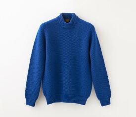 【UTO レディース 最高級カシミア カシミヤ100% 日本製】鹿子編み ハイネック セーター カラー20色