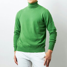 【UTO メンズ 最高級カシミア カシミヤ100% 日本製】タートルネック セーター カラー24色