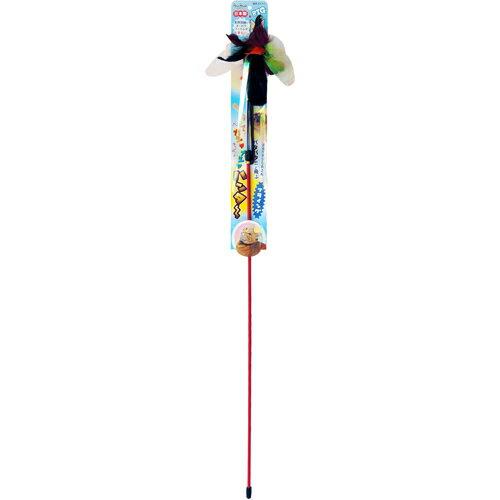 ペッツルート カシャカシャハンター フライング 【猫じゃらし/ねこじゃらし】【猫のおもちゃ・猫用おもちゃ】【猫用品/猫(ねこ・ネコ)/ペット・ペットグッズ/ペット用品/オモチャ・玩具】