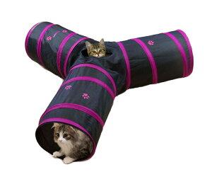 キャティーマン ペット遊宅 みつまたトンネル 【キャットタワー/猫タワー】【猫のおもちゃ・猫用おもちゃ】【猫用品/猫(ねこ・ネコ)/ペット・ペットグッズ/ペット用品/オモチャ・玩具