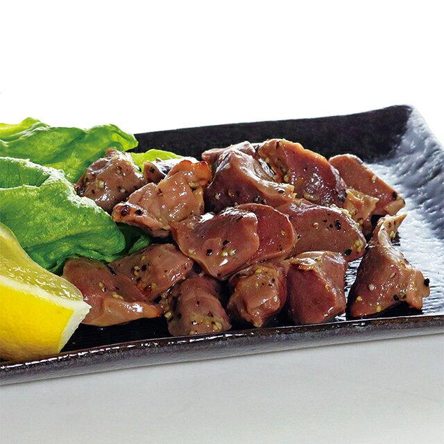 【送料込】会津地鶏の砂肝おつまみ炙り焼き4個セット