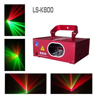 支持舞台照明LS-K800 DMX的红/绿色声音方式搭载激光右阶段灯演出照明机械材料音乐会俱乐部卡拉OK派对