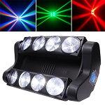 LEDスポットライトムービングヘッドムービングライトLEDボーダーライトLS-LM80ステージライトパーライトPARライトParLight/ディスコライトホリゾントライト/舞台/演出/照明/LEDLightRGBLightHorizonLight