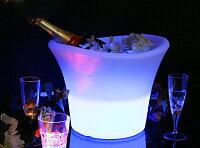 光るアイスペール大いボトルもOKワインクーラー/氷入れ/バケツ/アイスバケツ/光る/LED/アイスペール/ワインクーラー/光るアイスバケツ