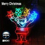 クリスマスサンタクロースモチーフ・LEDサンタクロース