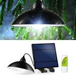 ソーラー、レトロ、アンティーク、ビンテージ、LED、ランプ、ランタン、ガーデンライト、ランプシェード、電球色、おしゃれ